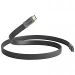 QED PERFORMANCE E-FLEX HDMI - Graphit