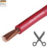 Ampire Stromkabel rot - Meterpreis