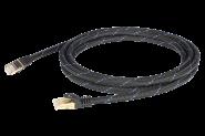 Black Connect cat 6a - Netzwerkkabel