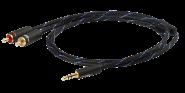 Black Connect Klinke/Cinch MKII 3,5mm