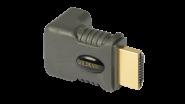 Goldkabel HDMI WINKELADAPTER 90°