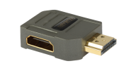 Goldkabel HDMI WINKELADAPTER Typ A
