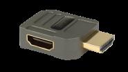 Goldkabel HDMI WINKELADAPTER Typ V