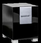 Quadral Qube 10 - Schwarz Hochglanz - B-Ware