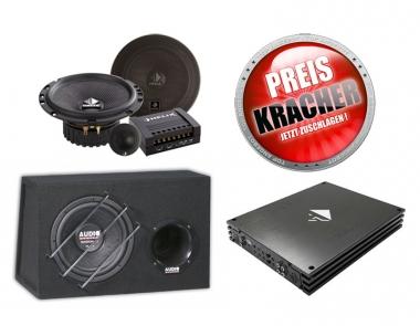 Car-Hifi-Paket Helix + Audio System