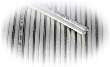 Goldkabel Silver-Flex - Meterpreis - 2,50mm² 2x2,5mm²