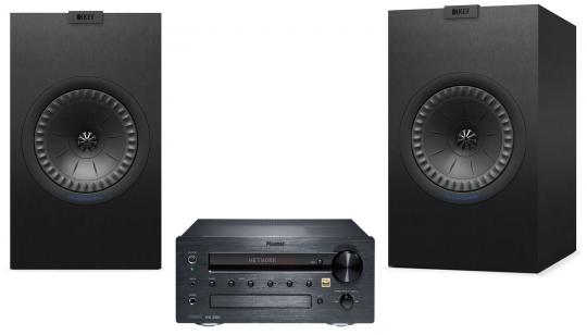 Magnat MC 200 + KEF Q350 - schwarz