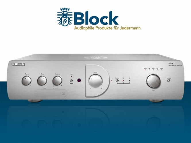 Audioblock V-120 - Diamantsilber Diamantsilber