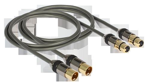 kabel profi XLR 0,75m