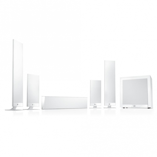 KEF T105 System - Weiss - B-Ware