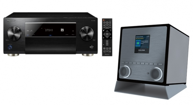 Pioneer SC-LX 901(schwarz) + Palona Quubi(schwarz)