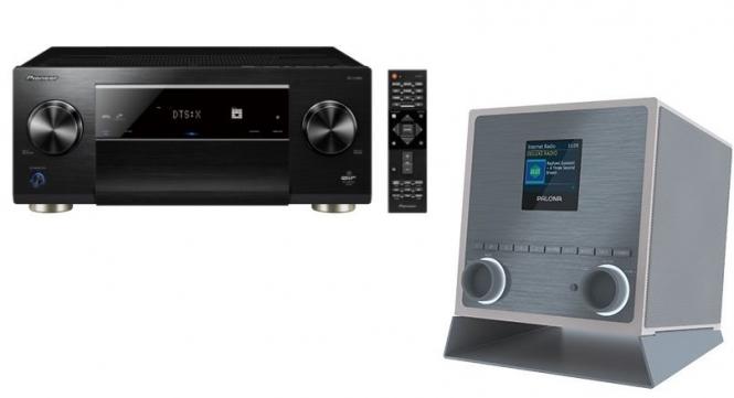 Pioneer SC-LX 901(schwarz) + Palona Quubi(weiss)