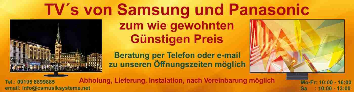 TV Samsung Panasonic